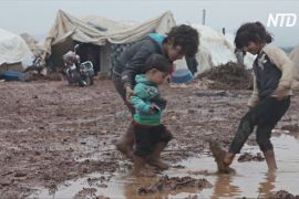 Мороз і пандемія: сирійські біженці в таборах зіткнулися з подвійним лихом