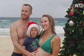 Усамітнене Різдво: на австралійському пляжі «Бонді» незвично тихо