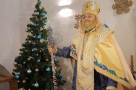 У Києві відкрилася резиденція Святого Миколая