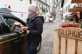 Смажені каштани і глінтвейн в авто: карантинний ярмарок у Німеччині