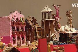 Традиційну виставку шведських пряникових будиночків цього року зробили в 3D