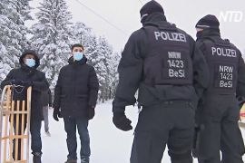 Німецькі поліціянти ганяються в горах за нелегальними відпочивальниками