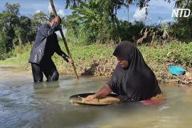Попри пандемію кустарний видобуток золота в Таїланді процвітає