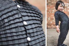У Великій Британії розробили оригамі-одяг, що ніби росте разом із дитиною