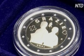 В Італії випустили присвячену медикам монету