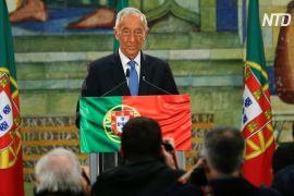 У Португалії переобрали президента Марселу Ребелу де Созу
