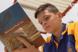 В Австралії хлопчик посадив сад і отримав премію за людяність