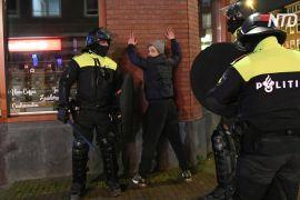 Після трьох днів погромів у Нідерландах відновили порядок