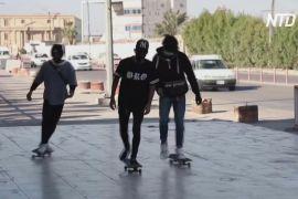 В Іраку через пандемію молодь захопилася скейтбордингом