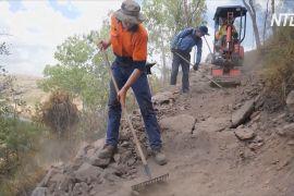 В австралійському заповіднику Нітмілук облаштовують гірські велотраси