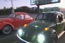 Шанувальники авто «Фольксваген жук» щотижня проводять парад у Каїрі