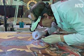 Реставратор переїхав із Греції до Туреччини, щоб рятувати фрески християнських церков