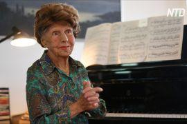 106-річна піаністка: «Мої пальці не можуть без клавіш»