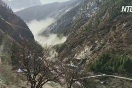 Щонайменше 11 осіб загинуло й коло 170 уважають зниклими безвісти унаслідок сходження льодовика в Гімалаях