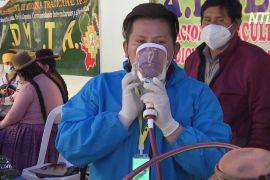 Болівійці сподіваються, що трав'яні настої захистять їх від коронавірусу