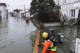 У Франції повені затоплюють житлові будинки