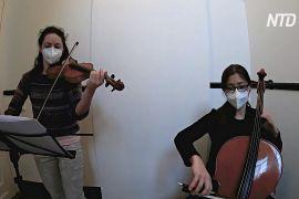 Франкфуртський симфонічний оркестр дає концерти на сходових майданчиках