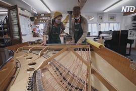 Традиційна майстерність виробництва піаніно оживає завдяки карантину
