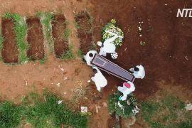 У Бразилії — рекорд добової кількості смертей від COVID-19