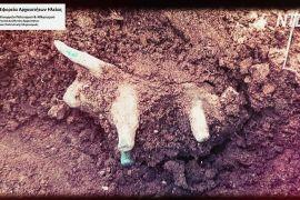 На розкопках стародавньої Олімпії знайшли майже 3000-літню статуетку бика