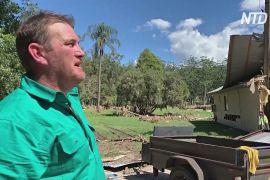 Австралієць урятував будинок від пожежі, але втратив його в повені