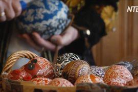 «Королева дизайну яєць» сподівається, що таке ремесло об'єднає родини перед Великоднем