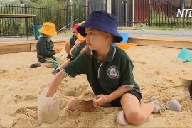 Директор школи в Австралії витратив канікули не на відпочинок, а на облаштування пісочниці