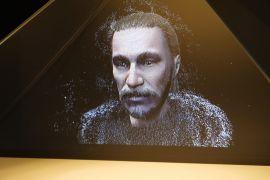 Нове обличчя Ярослава Мудрого показує голограма в Києві