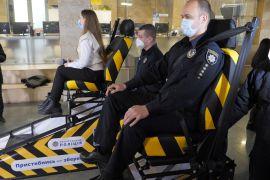 Українцям пропонують відчути ДТП на спеціальному симуляторі
