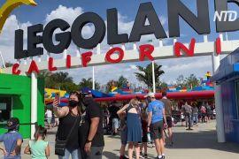 Каліфорнійські парки розваг знову приймають гостей