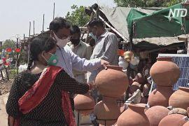 В Індії зростає попит на глиняні горщики