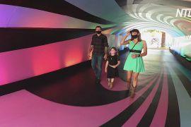 Солодкі й різнокольорові: у Лос-Анджелесі відкрили парк «Цукрова ейфорія»