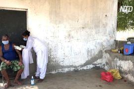 В Індії вакцинують жителів віддалених сіл