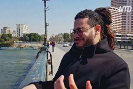 Людина-саксофон: як єгиптянин виконує музику без інструментів