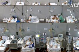 У реанімаціях Бразилії переважно лежать хворі на COVID-19, яким менше ніж 40 років