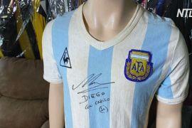 Футболку Марадони з автографом виставляють на аукціон