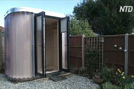 Кімната в саду: британці придумали карантинні офіси
