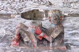 Храм ацтеків у Мехіко знову приймає відвідувачів