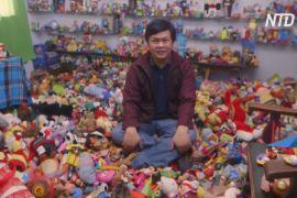Філіппінець за 45 років зібрав 20 тисяч іграшок із ресторанів швидкого харчування