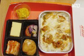 Ресторан із бортовим харчуванням допомагає сеульцям зануритися в атмосферу польоту