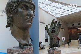 Кисть статуї римського імператора возз'єдналася з пальцем, утраченим 550 років тому