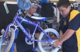 Ремонт велосипедів допомагає перевиховувати важких підлітків в Австралії
