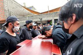 У Мехіко хоронять загиблих унаслідок обвалення мосту метро