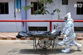Кількість померлих від COVID-19 в Індії перевищила 250 000 осіб