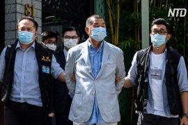 У Гонконзі медіамагнат Джиммі Лай знову опинився на лаві підсудних