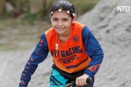 8-річна венесуелка мріє брати участь у веломотокросі на Олімпіаді 2032 року