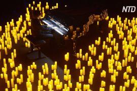 Французький піаніст уперше за 7 місяців дав концерт при свічках