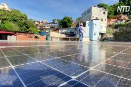 Сонячні панелі допомагають фавелам Ріо-де-Жанейро економити гроші