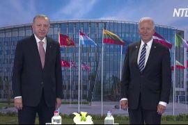 Байден і Ердоган провели зустріч під час саміту НАТО