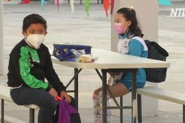У Мексиці школярі повертаються за парти на тлі ослаблення спалаху COVID-19